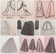Skirts, Overskirts, Corsets-Bustle-Underwear 1851-1903 Edwardian Truly Victorian