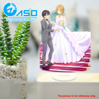 Sword Art Online Asuna Kirito wedding Anime Acrylic Stand Figure display model