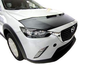 CAR HOOD BONNET BRA fit Mazda CX-3 CX3 since 2015  NOSE FRONT END MASK TUNING