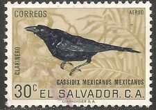 El Salvador Air Post Stamp - Scott #C204/AP49 30c Ol Bis & Black Canc/LH 1963