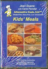 JEAN DUANE Alternative Cook DVD Kid's Meals Gluten & Dairy Free Low Cholesterol