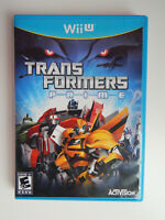 Transformers Prime the Game Complete! Nintendo Wii U