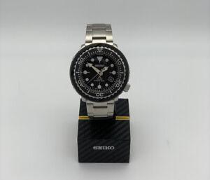 mens seiko prospex solar 'Tuna' divers watch Ref. SNE497P1