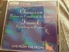 Chausson: Poeme de l'amore et de la mer / Franck: Symphony - Roocroft / BBC NOW