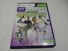 Kinect Sports Xbox 360  Case and Manual Only No Disc