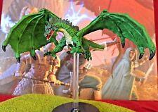Green Dragon D&D Miniature Dungeons Dragons pathfinder tyranny 31 adult large Z