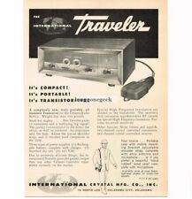 1960 International Crystal Traveller CB Radio Transceiver Vtg Print Ad