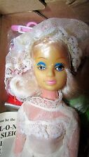 VINTAGE 1980S BARBIE CLONE MINT IN BOX WITH 75 ACCESSORIES