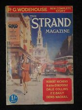The Strand Magazine; May 1932 - P G Wodehouse (The Bishop's Cat), Dale Collins