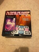 😍 pack star academy playstation 2 ps2 100% neuf tapis bundle tapis de danse jeu