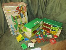 Fisher Price Little People Holiday Inn Playskool Familar places hotel motel F