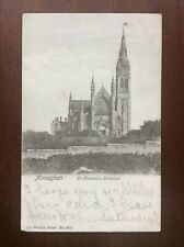 Antique 1904 St. Macarten's Cathedral Monaghan Postcard Ireland
