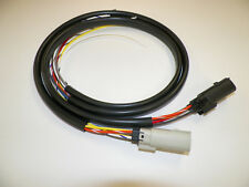 """Harley 07 - 13 switch wiring extension IN PVC TUBE 30 x 36"""" Molex plugs wire"""
