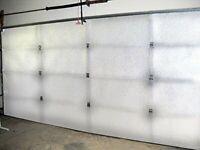 Reflective Garage Door Reflective Insulation Kit w/ Sound Reduction Technology