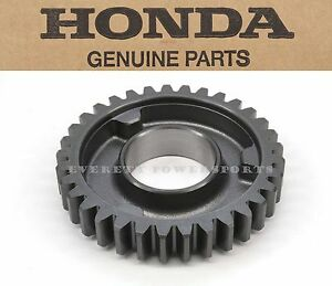 New Genuine Honda Countershaft Fourth Gear 33T TRX420 Rancher (See Notes) #T124