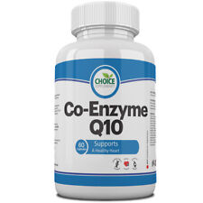 Co Enzyme Q10 CoQ10 100mg Capsules UK Manufactured Quality Assured Pills Tablets