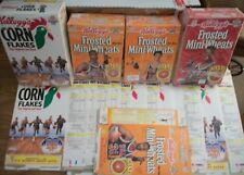 BASKETBALL CEREAL BOXES 1992 - 1993  NUMEROUS STARS SHOWN ON BOXES + U.S.OLYMPIC