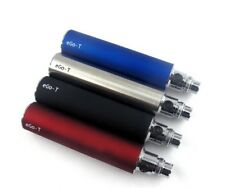 Brand New Ego T Vape Battery 650 Candy Red, Black, Stainless, Blue