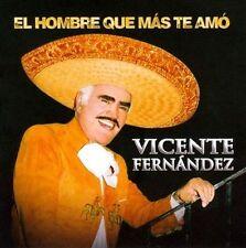 CD + DVD El Hombre Que Mas Te Amo by Vicente Fernandez