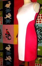 DANITY ROBE DRESS POP BICOLORE BODYCON  ZIP DOS APPARENT  TM OU 36/38