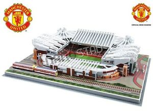 Manchester United Old Trafford Stadium ~ 3D Jigsaw Puzzle Official Licensed Prod