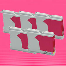 5P LC51M MAGENTA INK CARTRIDGE FOR BROTHER DCP130C 340C