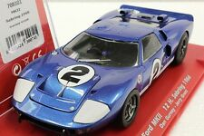 FLY 708101 FORD GT40 MK II SEBRING 1968 GURNEY NEW 1/32 SLOT CAR IN DISPLAY CASE