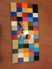 Lego Duplo Lot Of 69 1x2x2 Pieces Bricks Parts Various Colors Pink Orange Tan...