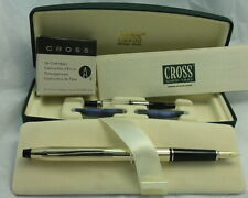 SALE! Cross Century 10k Fountain Pen 585 Solid 14k Medium Nib+Converter USA MINT