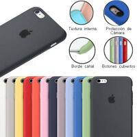 Funda trasera SILICONA para iphone 5 5s SE / 6 6s / 6 6s plus best silicone case