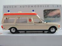 "Busch 52208 Mercedes-Benz VF 123 Miesen (1977) ""MHD Hamburg"" 1:87/H0 NEU/OVP"