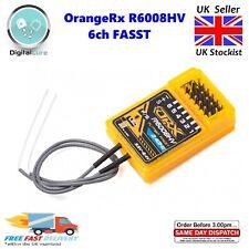 OrangeRx R6008HV 6ch 2.4Ghz FASST Compatible Receiver for Futaba