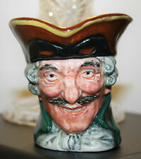 """Royal Doulton """"Dick Turpin"""" PICCOLA BROCCA personaggio 8 cm di altezza c.1930's"""