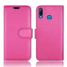 New Flip Wallet Book Leather Phone Fone Cover Case For Huawei P10 lite & P20 PRO