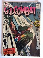 G.i. Combat #62 (Gd/Vg 3) Dc Comics Silver Age