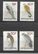 BOPHUTHATSWANA 1989 Birds of Prey set of 4   MINT NH
