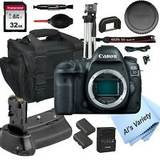 Canon EOS 5D Mark IV (Body Only) + 32GB+ Power Battery Grip-14PC Bundle