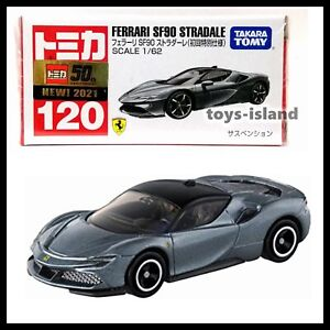 TOMICA 120 FERRARI SF90 STRADALE 1/62 TOMY 2021 APRIL NEW MODEL First edition