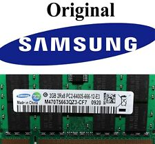 2GB Samsung Laptop / Notebook RAM DDR2 SO DIMM 800 Mhz PC2-6400S Laptop Netbook