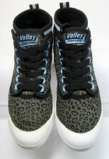 DUNLOP VOLLEY HI LEAP TOP SNEAKERS LACE UP WOMEN US 6 MINIMAL WEAR CLEAN