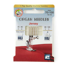 Organ Jersey Size 70-100 Domestic Sewing Machine Needles (130BP-70-100-ECO5OR)