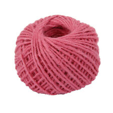 Light Pink 50m Jute Jute Burlap Twine Sisal String Garden Household DIY Cord
