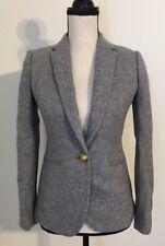 NEW JCREW $198 Campbell blazer in Donegal wool Size00 In Gray F5200