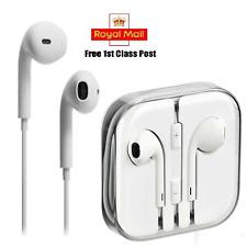 IPhone, iPad, Cuffie Stereo iPod bianco 3.5mm pin in custodia jewel uso universale