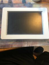 "7"" Philips Digital Photo Display 7FF1M4/37 Metal And Clear Frame,"