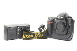 Nikon D3X 24.5MP Digital SLR DSLR Camera - Black (Body only) ***225,418 shots***
