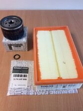 Genuine Renault Clio Sport 197 Service Kit ,Oil Filter, Air filter & Sump Washer