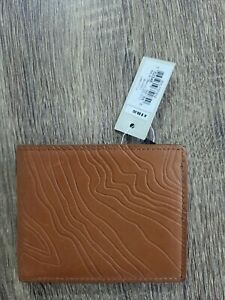 Fossil wallet mens Brand new with tag . Perfect Christmas gift / brown leather