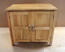 Damaged Solid Oak 90cm x 60cm Vanity Bedside Cabinet Cupboard TV Cabinet