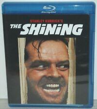 The Shining- Jack Nicholson, Sheller Duvall (Blu-ray Disc, 2007) Moderate Wear